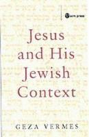 Jesus in His Jewish Context PDF