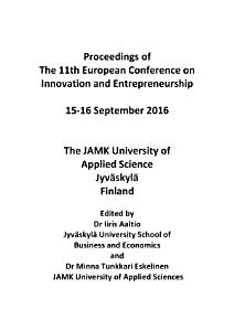 11th European Conference on Innovation and Entrepreneurship PDF