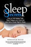 Sleep Secrets