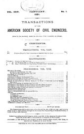 Transactions of the American Society of Civil Engineers: Volume 24