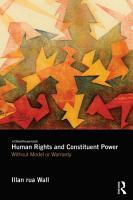 Human Rights and Constituent Power PDF