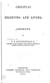 Christian Believing and Living: Sermons