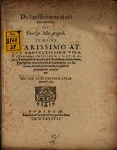 De iurisdictione civili conclusiones