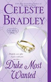 Duke Most Wanted: The Heiress Brides, Book 3
