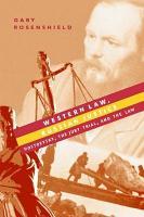 Western Law  Russian Justice PDF