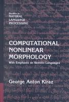 Computational Nonlinear Morphology PDF