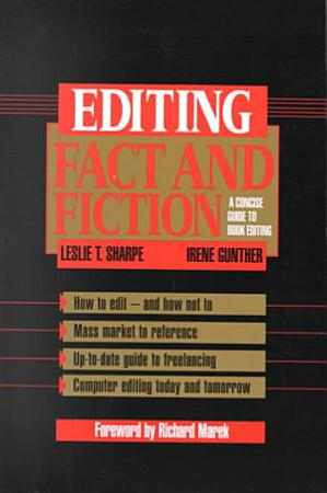Editing Fact and Fiction PDF