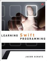 Learning Swift Programming PDF