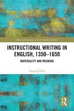 Instructional Writing in English, 1350-1650
