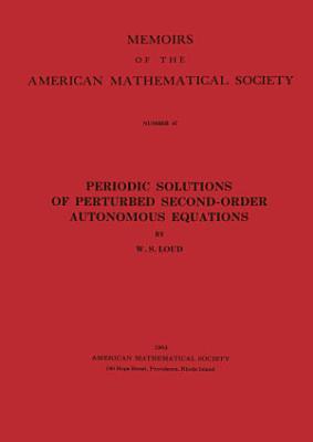 Periodic Solutions of Perturbed Second Order Autonomous Equations