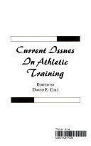 Current Issues in Athletic Training
