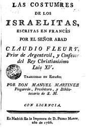 Las costumbres de la israelitas