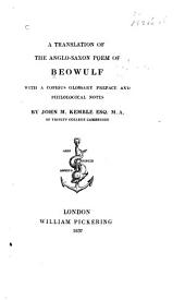 Beowulf: A Translation of the Anglo-Saxon Poem of Beowulf