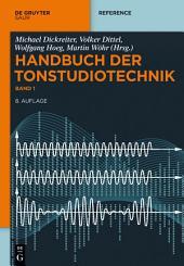 Handbuch der Tonstudiotechnik: Ausgabe 8