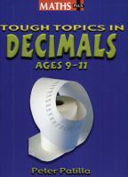 Tough Topics in Decimals PDF