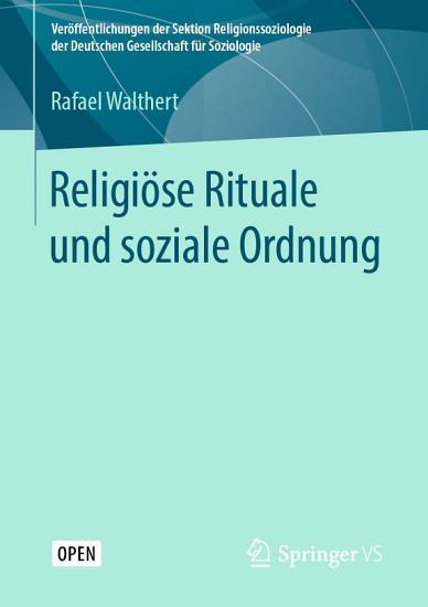 Religi  se Rituale und soziale Ordnung PDF
