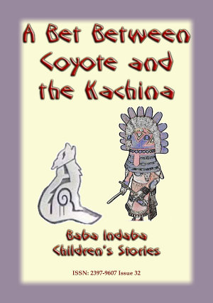 A Bet Between the Coyote and the Kachina - Cover