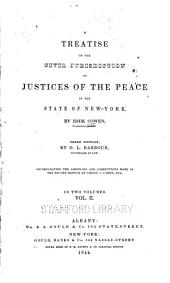 A Treatise on the Civil Jurisdiction of Justices of the Peace in the State of New York: Part 2