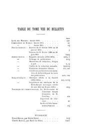 Bulletin de la Société de linguistique de Paris: Volumes8à10