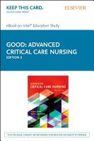 Advanced Critical Care Nursing   E Book PDF