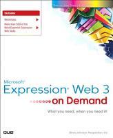 Microsoft Expression Web 3 On Demand PDF