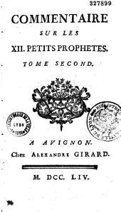 Commentaire sur les XII petits prophètes