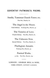 The angel in the house [by C.K.D. Patmore. In verse]. by C. Patmore