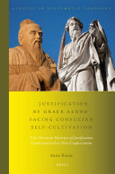 'Justification by Grace Alone' Facing Confucian Self-Cultivation