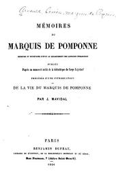 Mémoires du marquis de Pomponne: Mémoire sur les différents intérêts des princes de l'Europe à la fin de 1679
