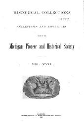 Michigan Historical Collections: Volume 17