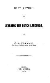Easy Method of Learning the Duth Language