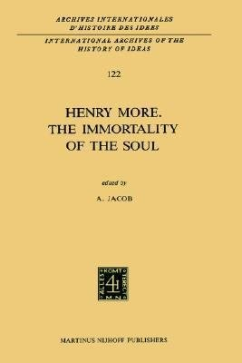 Henry More  The Immortality of the Soul