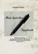 Mein Lyrisches Tagebuch PDF