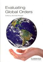 Evaluating Global Orders PDF