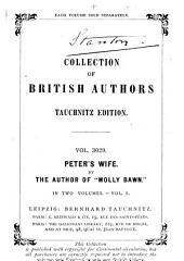 Peter's Wife: A Novel, Volume 1