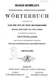 Wilhelm Obermüller's deutsch-keltisches, geschichtlich-geographisches Wörterbuch ..: Band 2