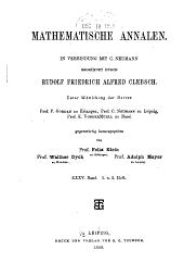 Mathematische Annalen: Volume 35