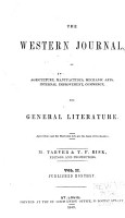 The Western Journal  of Agriculture  Manufactures  Mechanic Arts  Internal Improvement  Commerce  and General Literature PDF