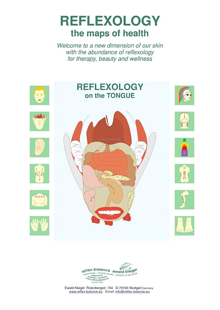 REFLEXOLOGY on the TONGUE