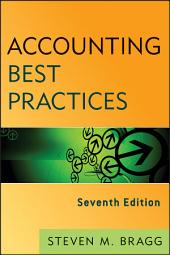 Accounting Best Practices: Edition 7