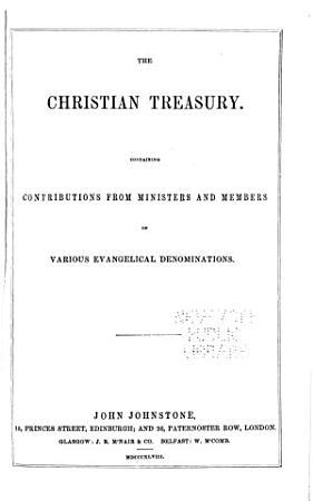 The Christian Treasury PDF