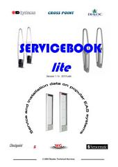 Servicebook Lite: Concise version service aid for EAS tagging systems