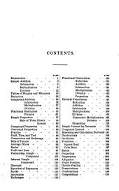 A Complete System of Commercial Arithmetic, Its Application to the Principal Branches of Commerce According to the Existing Practices of Trade, & Numerous Rules for Facilitating & Performing Mental Calculations: With an App...