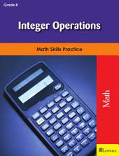 Integer Operations: Math Skills Practice