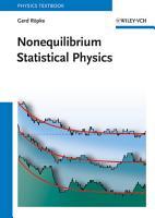 Nonequilibrium Statistical Physics PDF
