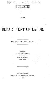 Bulletin of the Bureau of Labor: Issues 20-25