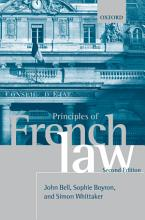 Principles of French Law PDF