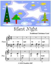 Silent Night - Beginner Tots Piano Sheet Music
