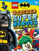 Lego Batman Sticker Super Heroes and Super Villains