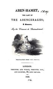 Aben-Hamet, the last of the Abencerages. Transl